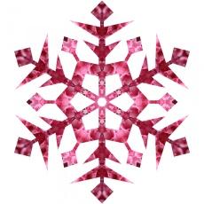 pink-snowflake