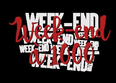 week-end à 1000 14